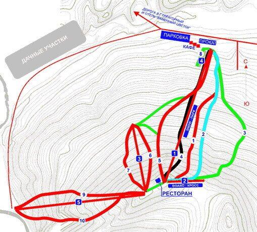 Схема/характеристика трасс и